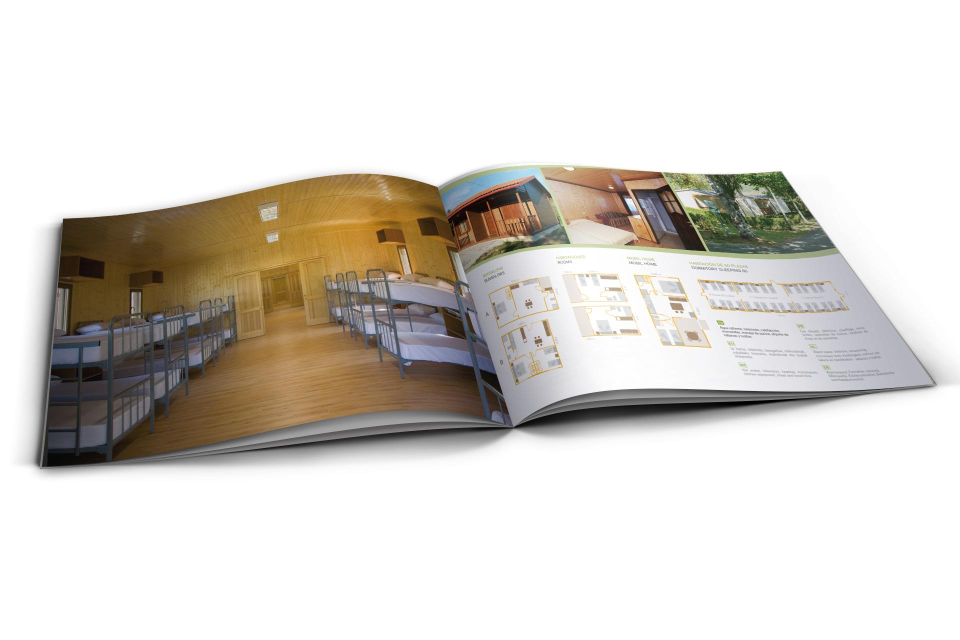 catálogo para camping Ezcaba